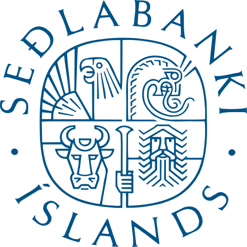 Sedlabanki islands logo
