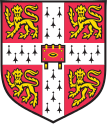 University of cambridge coat of arms official svg